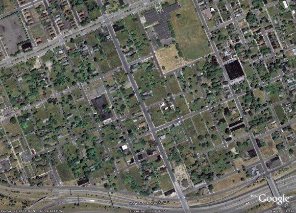 Google Maps Aerial Image