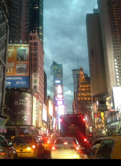 Grey Sky Over Manhattan