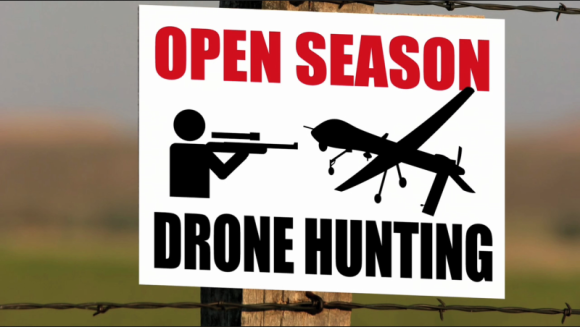Dronehunting