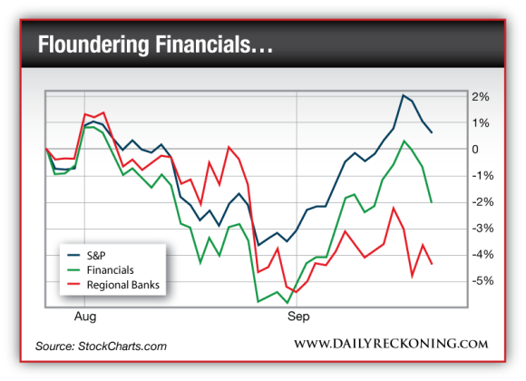 Floundering Financials