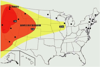 What To Do When China Nukes The US The Daily Reckoning - Us nuke target map