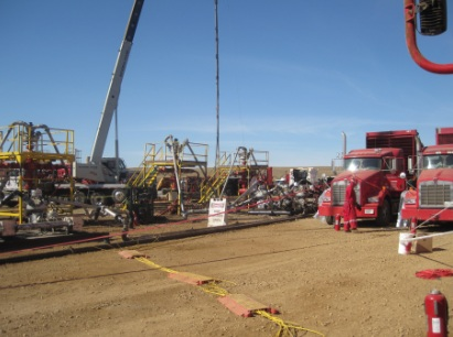 Well Completion at Statoil Drill Site