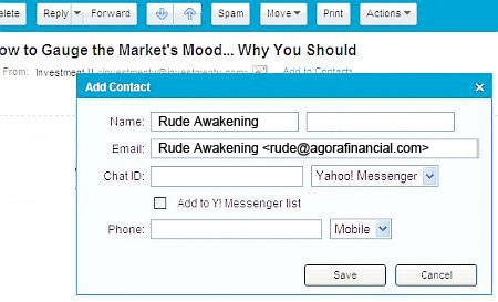 Yahoo Whitelist B (RUDE)