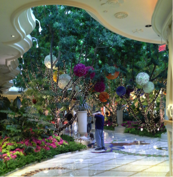 Dream Garden in the Wynn Las Vegas