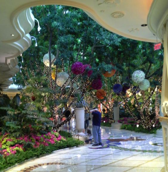 Dream Garden in the Wynn Las Vegas