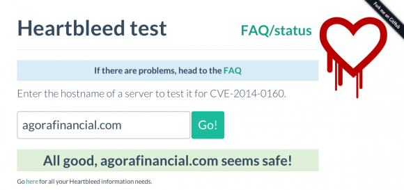 Heartbleed Test Image