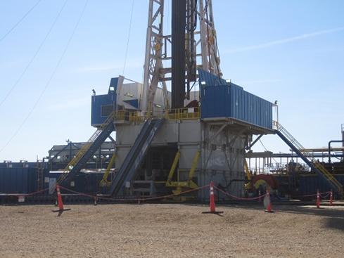 Drill Rig in the North Dakota Bakken