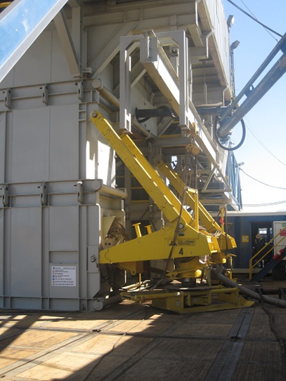 """Giant """"Foot"""" of Nabors Drill Rig"""