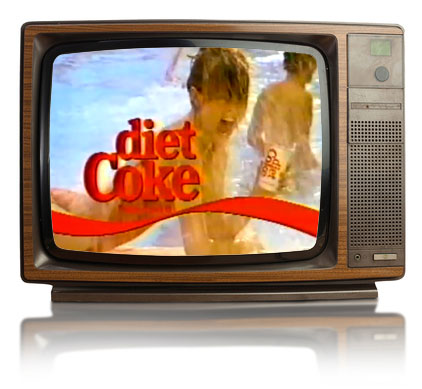 Old School Diet Coke Ad