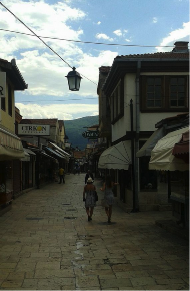 Old Bazaar in Macedonia