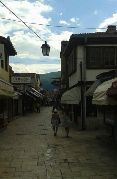 Old Bazaar in Macedonia