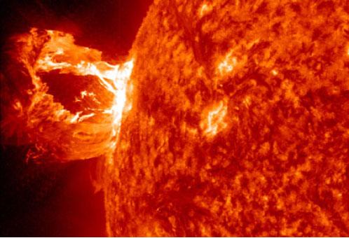 July 2012 Coronal Mass Ejection