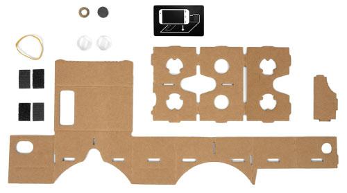 Google VR Cardboard Outline