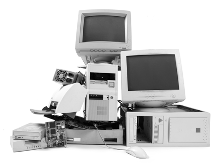 Stack of PC Components and Hardware