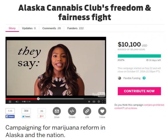 Charlo Greene's Alaska Cannabis Club