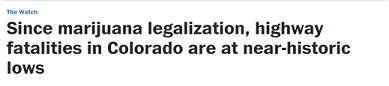 Washington Post Headline About Marijuana Legalization