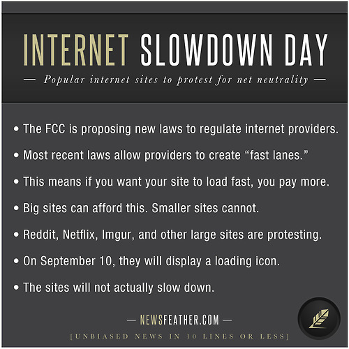 Internet Slowdown Day Protest Points