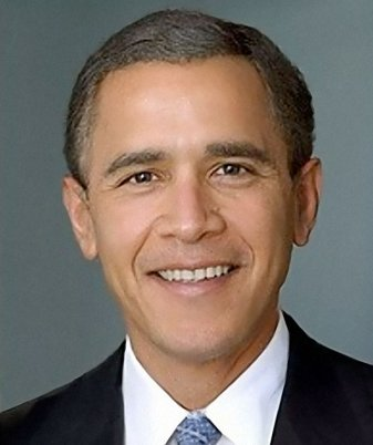 Bush-Obama Composite Image