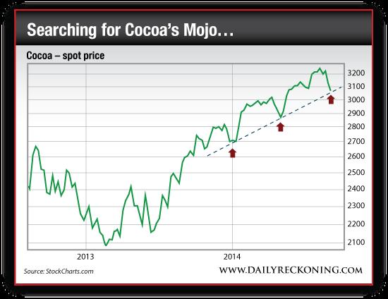 Spot Price of Cocoa