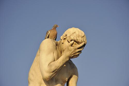 Facepalm Statue_3