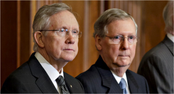 Sen. Harry Reid and Sen. Mitch McConnell