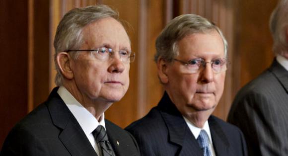 Sen. Harry Reid and Sen. Mitch McConnell