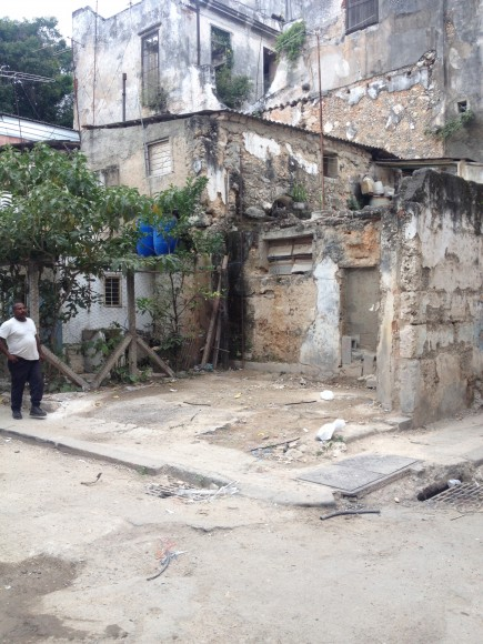 Ruins in Old Havana
