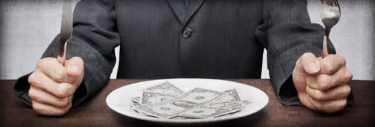 Let them eat cash