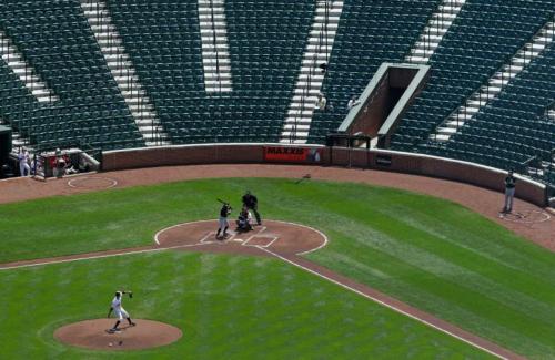 Empty stands: Somebody knew something.