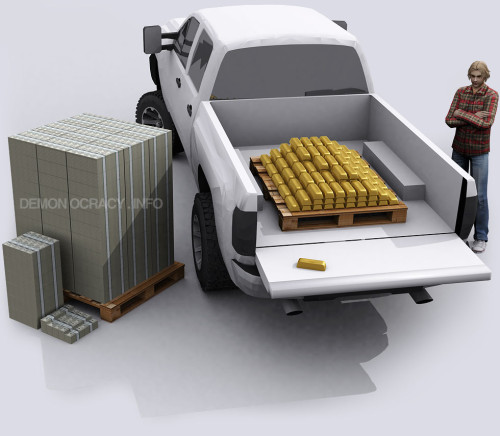truck-of-gold