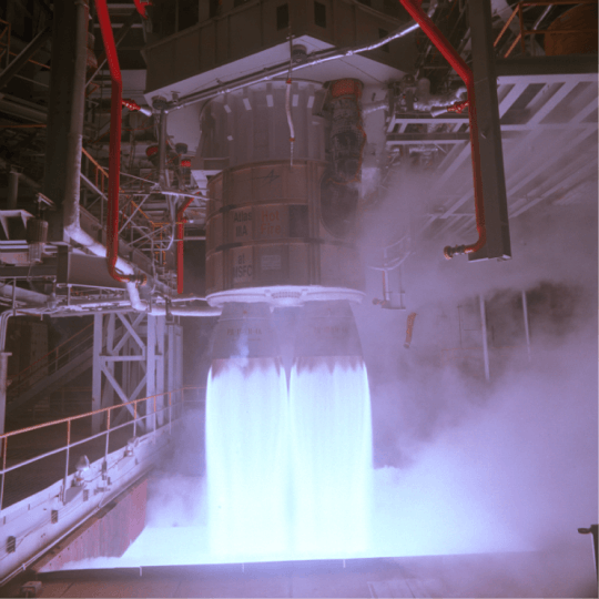 Russian-built Rocket Engine Test By NASA