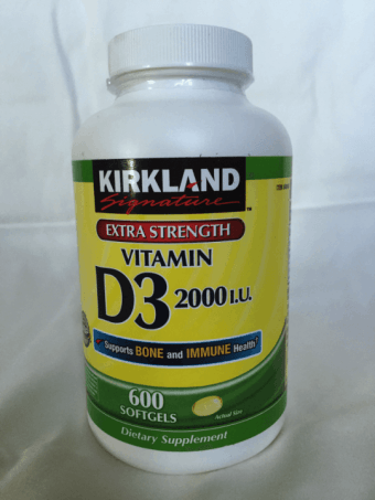 Kirkland Signature Extra Strength Vitamin D3