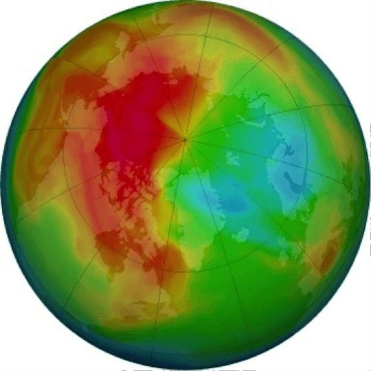 Heat Map of the Globe