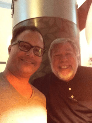 Michael Covel and Steve Wozniak