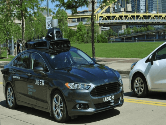 UBER'S Driverless Vehicle