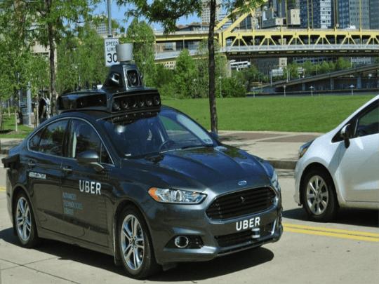 UBER'S Driverless Vehicle
