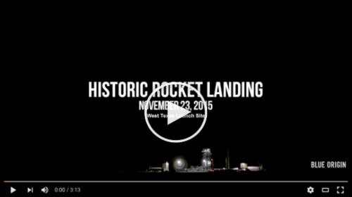 Historic Rocket Launch Video