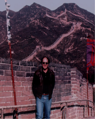 Great Wall of China in 1991