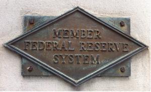 Federal Reserve Member Plaque