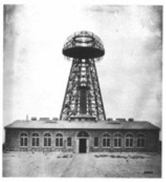 Tesla Tower in 1904