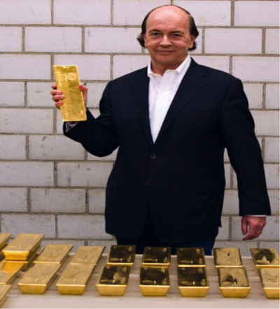 Jim Rickards with Gold