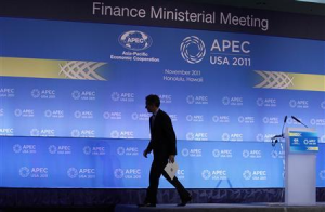 Tim Geithner at the APEC Conference