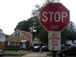 A Contradictory Set of Stop Signs