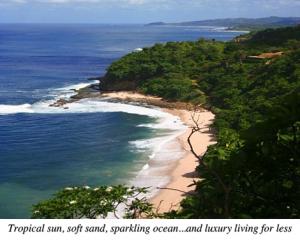 Tropical Beach In Nicaragua