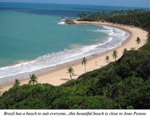 Brazilian Beach Near Joao Pessoa
