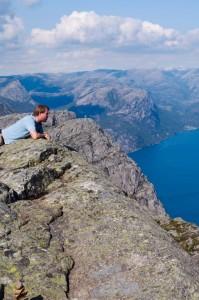Joel Bowman at the Fjords