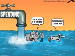 Government Spending Cartoon
