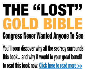 Gold Bible Banner Ad
