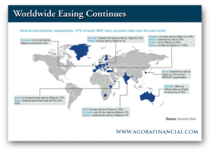 Frank Holmes: Worldwide Easing Continues