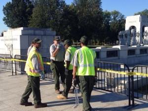 Shutdown WWII Memorial